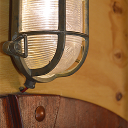 Features: Nautical lamp, an example of added functional style